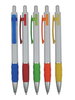 PP5840-1 Chear Plastic Ballpoint Pen with Customized Logo