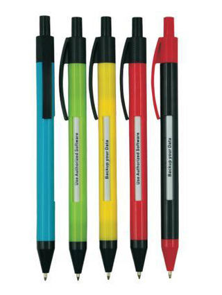 Promotional Gift Window Click Pen with Customized Logo