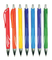 Hot Selling Rubber Finish Plastic Ball Pen with Logo Printing